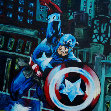 Captain America Acrylic